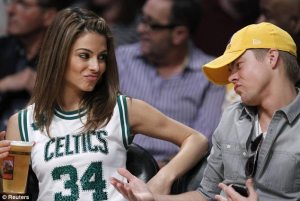 Maria is a real Celtics fan, or is she?