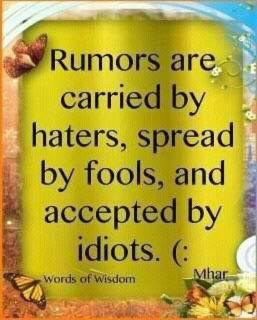 Rumor memes that people like