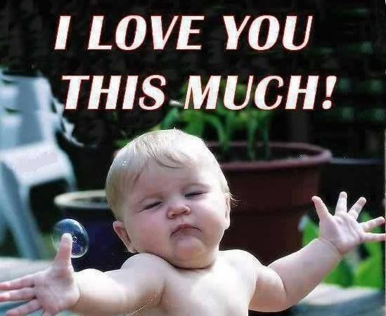 Funny I Love You Baby Quotes : Thanksgiving 2013 Thanks & almost full