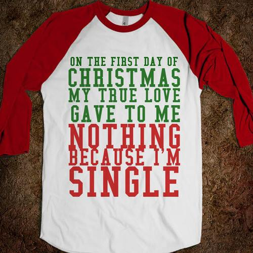 Being single for the holidays