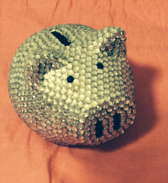 Sparkley pig