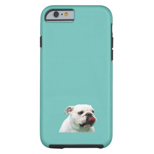 custom iphone 6 case with bulldog