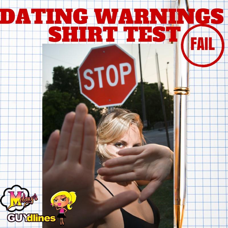 Dating warning: The shirt test