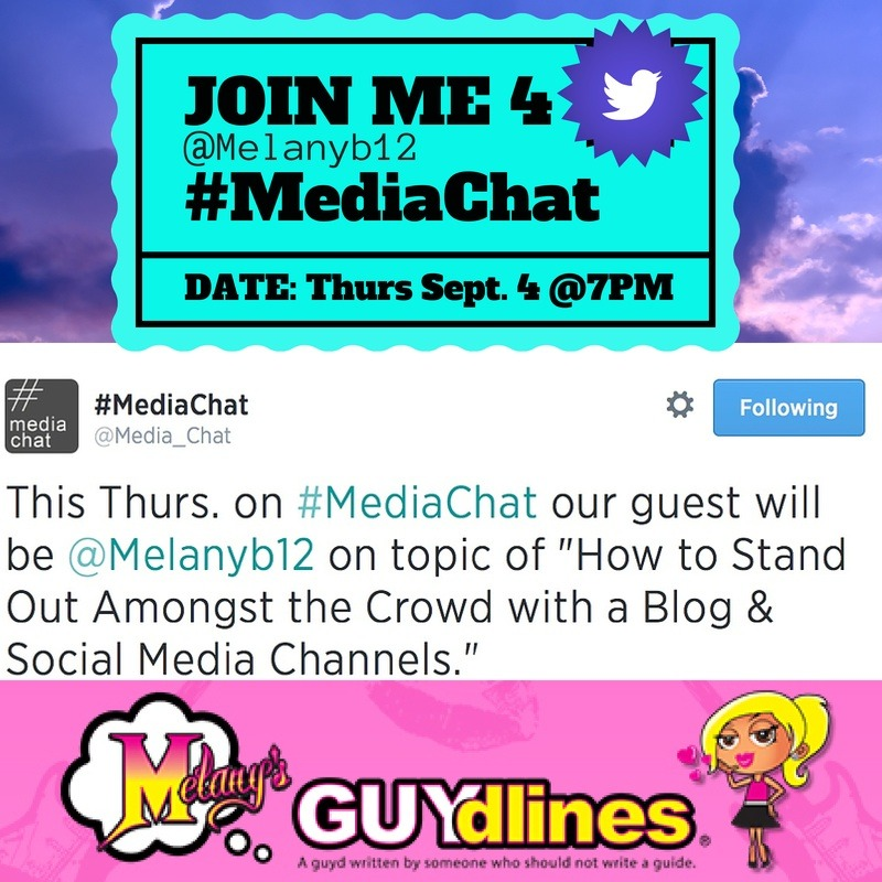 Join me for #mediachat and how to stand out amoungst the crowd with a blog and social media channels