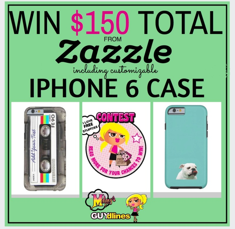 Win a total $150 from Zazzle: Including customizable Iphone 6 case