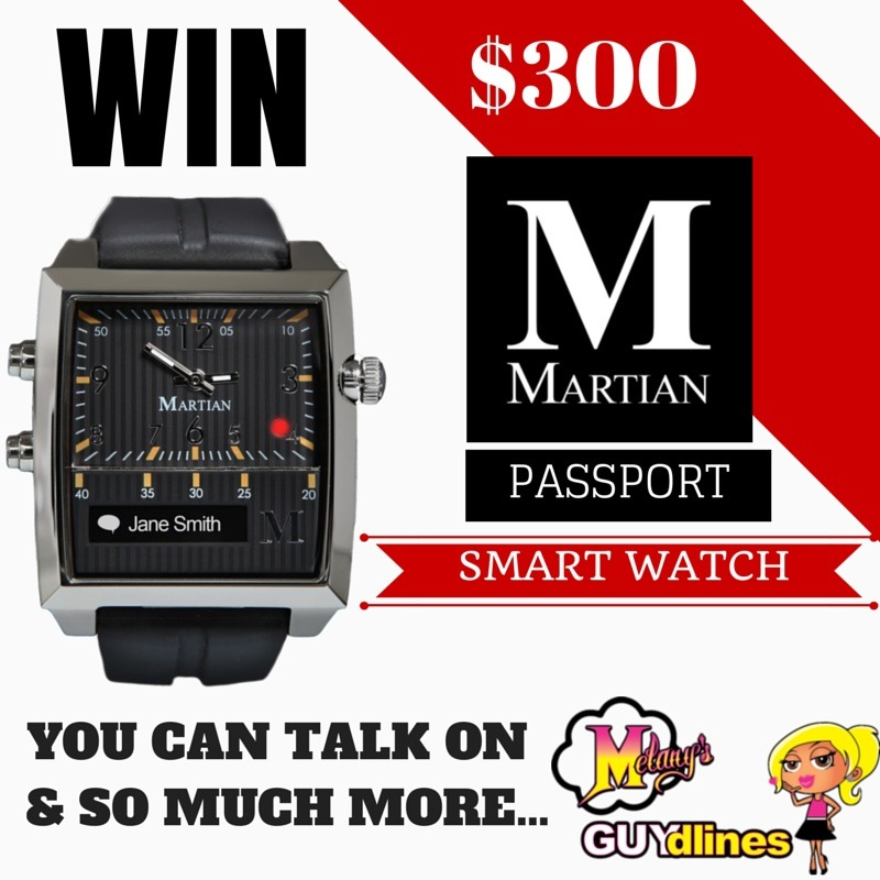 Win Martian Smart Watch worth $300
