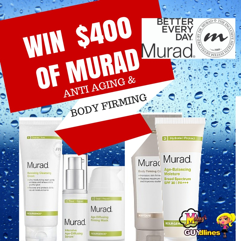 Win $400 worth of Murad Anti Aging and skin firming cream