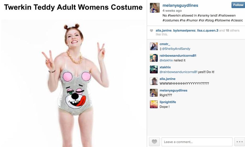 Halloween Dress like a slut day! Miley Cyrus