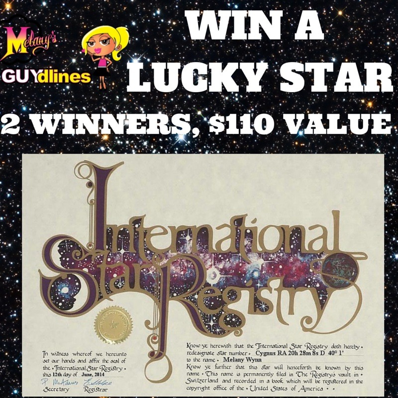 win or buy a star from the International star registry