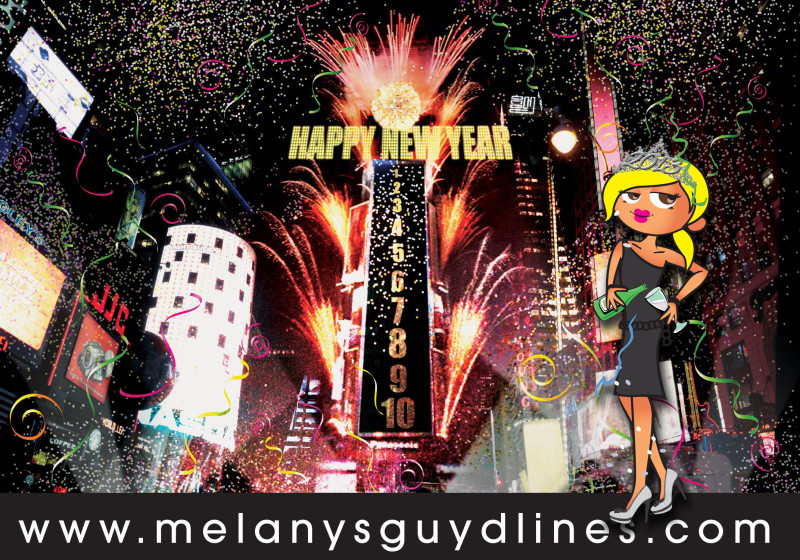 happy new year from melanysguydlines