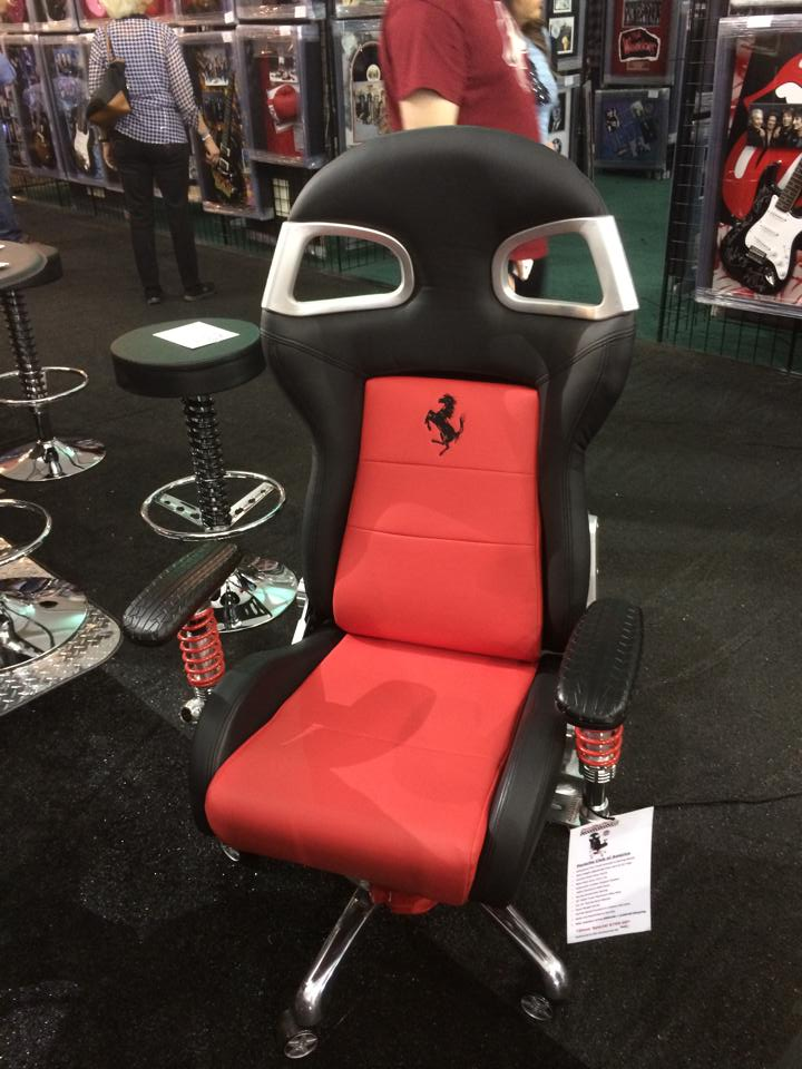 Barrett Jackson Car Show - desk chairs