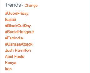 #socialhangout trending