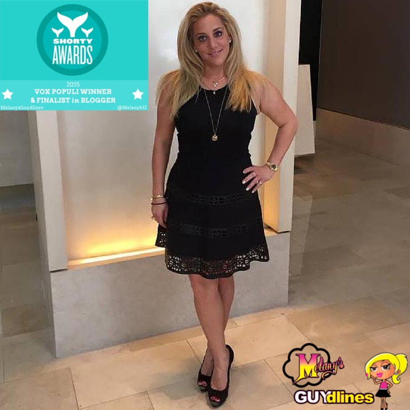 MelanysGuydlines Vox Populi winner at the Shorty awards 2015 in blogger!