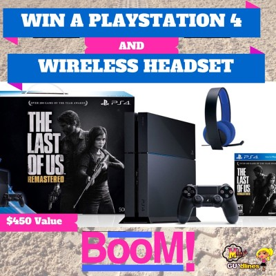 BOOM! Win A Sony PlayStation 4 Bundle AND Wired Headset Worth $450