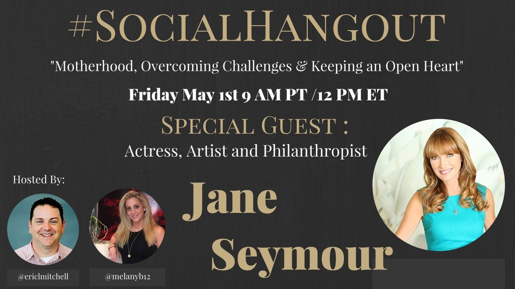 Interview with Jane Seymour on Social Hangout: Mother's Day Exclusive