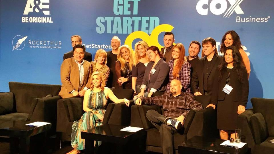 #getstartedOC with Storage Wars, Cox Business and Inc Magazine