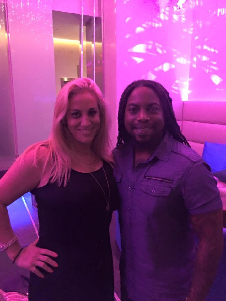 Lajon Witherspoon of Sevendust and MelanysGuydlines