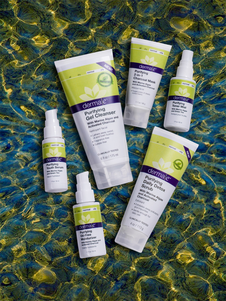 Win the Entire NEW derma e® Purifying Skincare Line Worth $150