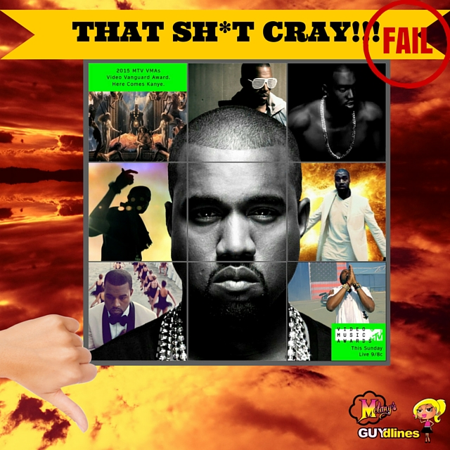 That Sh*t Cray: Kanye West MTV Video Vanguard NO!