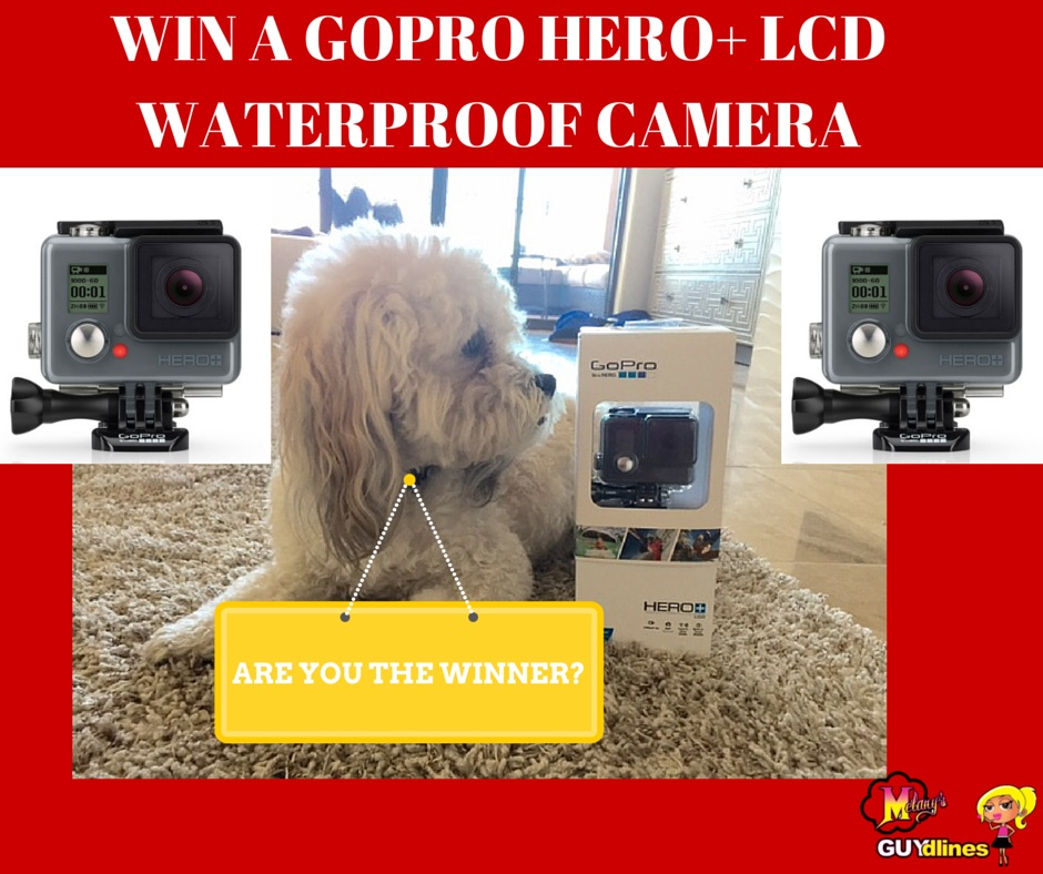 GO PRO. Win A GoPro Hero+ LCD Waterproof Camera