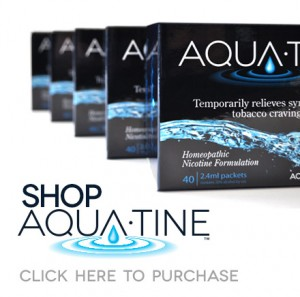 Just Say No To Smoking and Yes To Aqua-tine ™