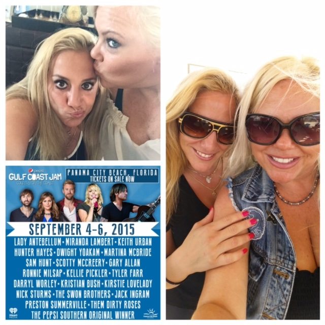 Going #DestinationCountry With Jessica Northey for Pepsi Gulf Coast Jam 2015