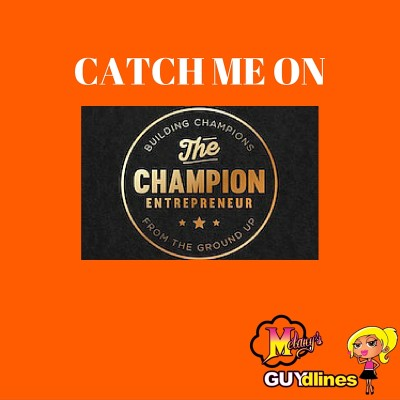 Catch Me on the Champion Entrepreneur Podcast with Anthony Witt