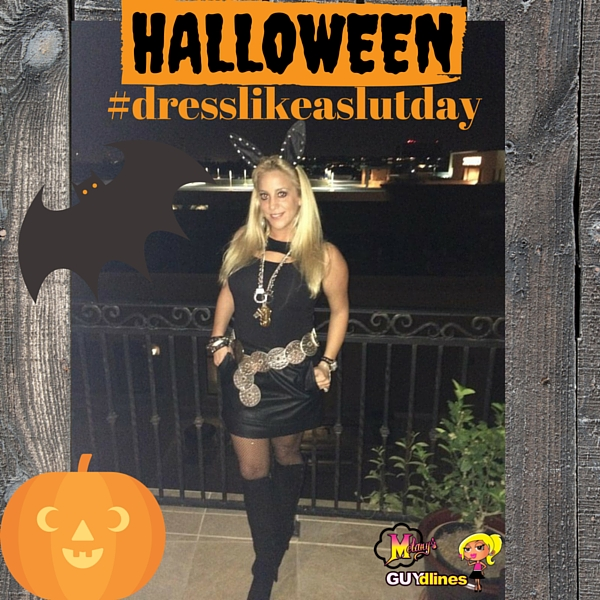 Happy Almost #DressLikeASlutDay aka Halloween!