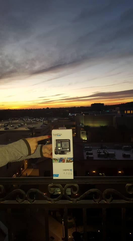 Win a GoPro Hero+ LCD Waterproof Camera