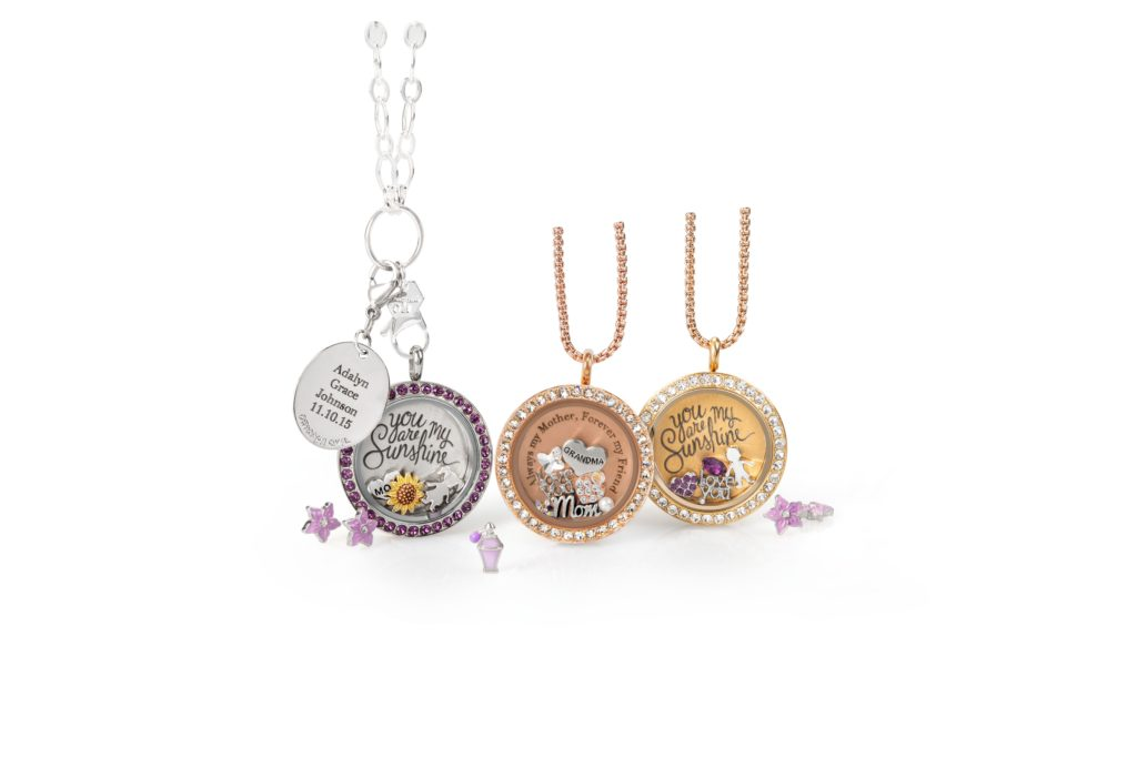 Origami Owl Mothers Day lockets