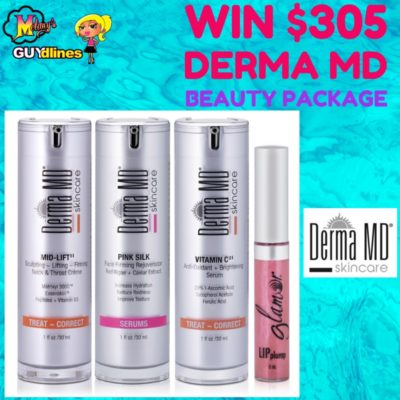 Bye-Bye Fine Lines: Win $305 Of Derma MD Exclusive Beauty Products