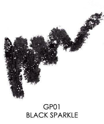 GLITTER Pencil/ COLOR: Black Sparkle