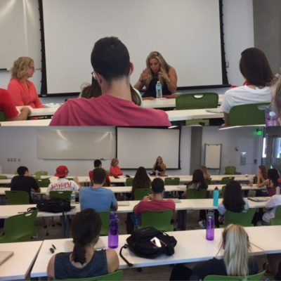My Guest Lecture On Social Media Marketing At the University of Arizona