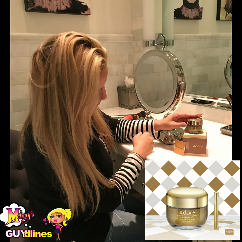 Adore Cosmetics Gold Magentic Face Mask