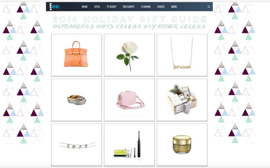 E news Holiday gift guide -adore cosmetics