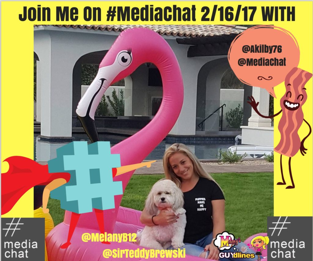 I'm the Guest On #MediaChat Thurs. 2/16/17:  Working With Brands You Love