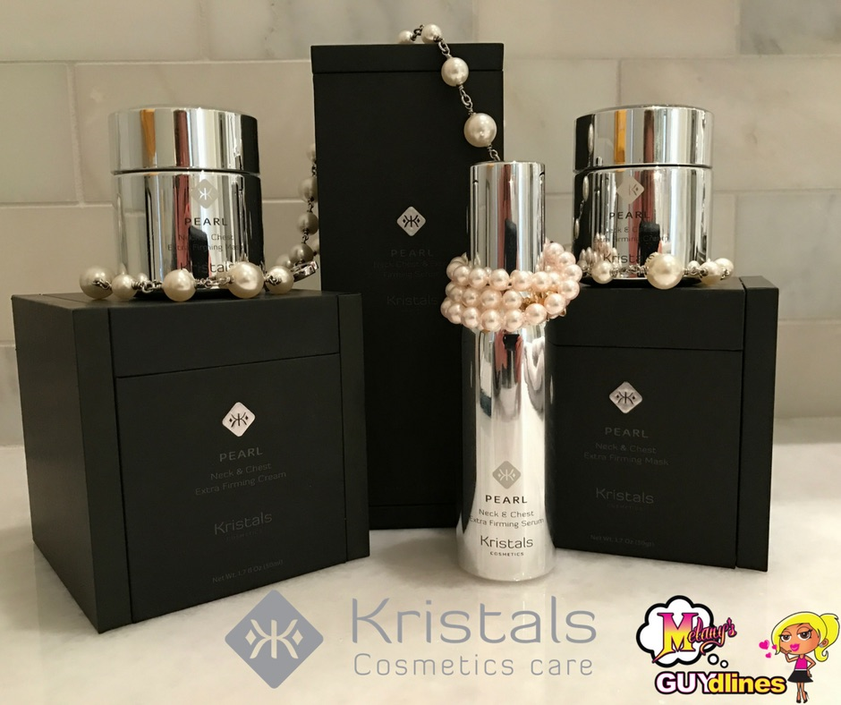 Win $1250 Kristals Cosmetics: Pearl Extra Firming Neck And Chest Kit