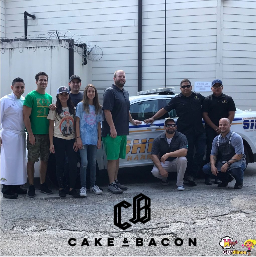 Heroes In Houston: Cake & Bacon Feeding The Front Lines