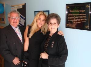 My family dedicated a preschool in my sister's name. The Brenna Berger Adath Israel preschool is in San Francisco.