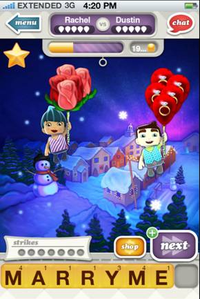 zynga sparks relationships by gaming marriage proposal