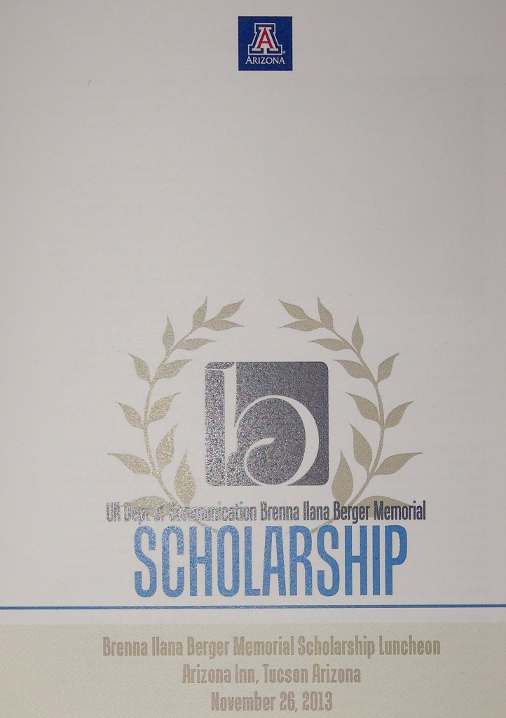 UofA Brenna Berger Scholarship
