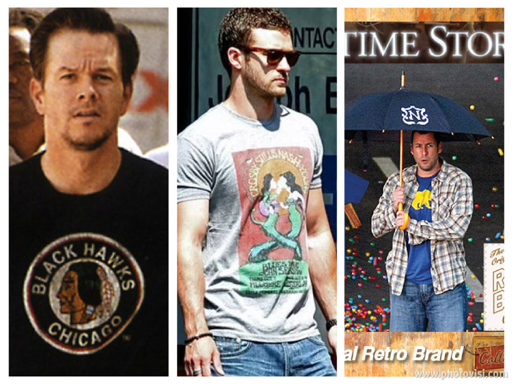 Wahlberg, JT & Sandler love RETRO BRAND