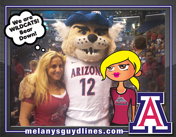 Wilbur and UofA Wildcats