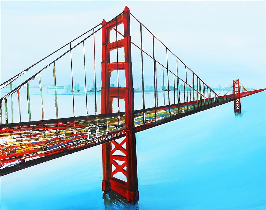 Golden Gate by Piero Manrique