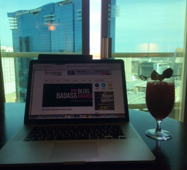 BILLY BAD ASS! Blogging from Vegas, with Bloody Mary pre Billboard Music Awards!