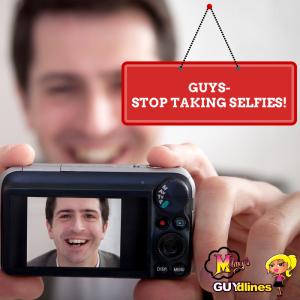 stop taking selfies guys