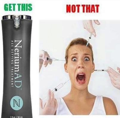 No more needles to reduce wrinkles. Nerium