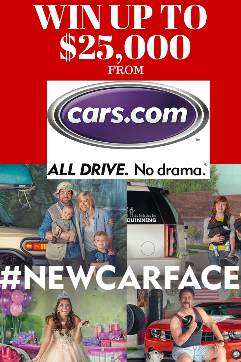 win up to $25,000 from cars.com #newcarface
