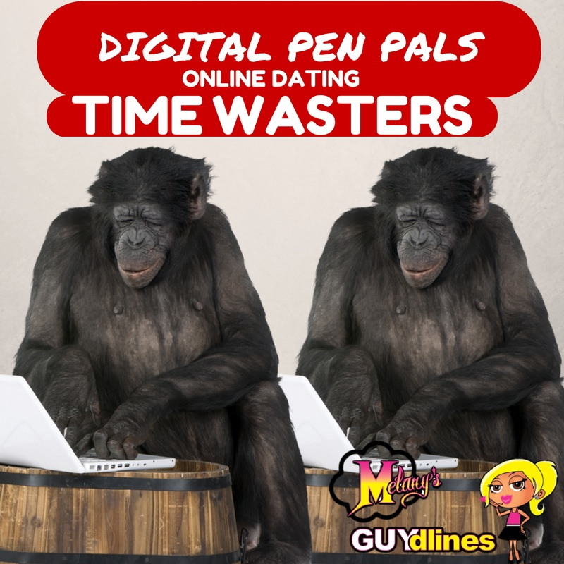Digital Pen Pals: Online Dating Time Wasters