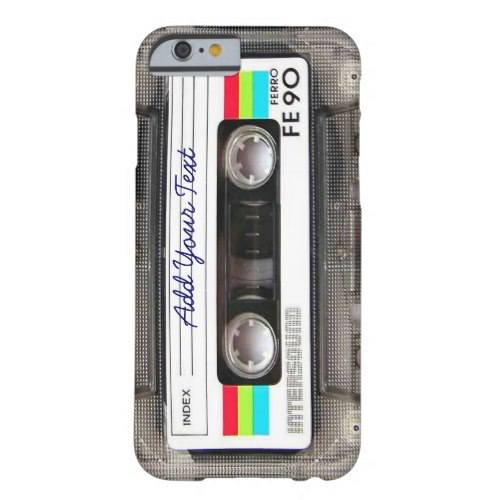 funny vintage Iphone 6 case -looks like a mix tape